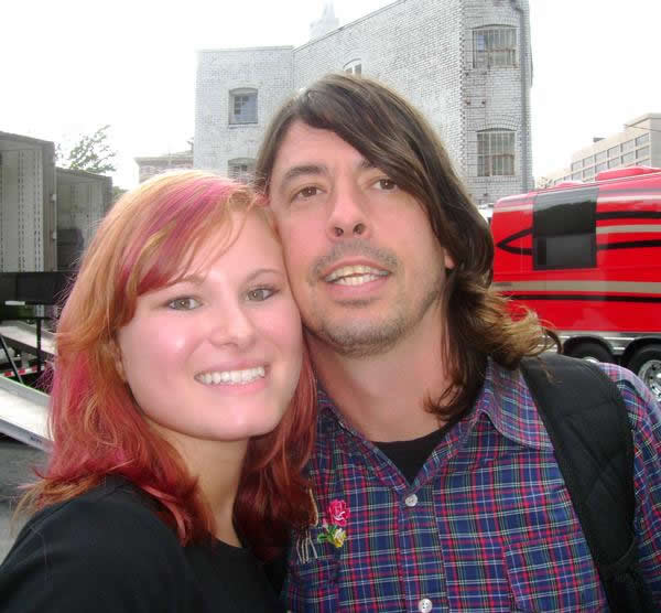 Dave Grohl with no beard